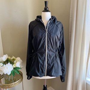 Lululemon Resolution Rain Hooded Jacket Black